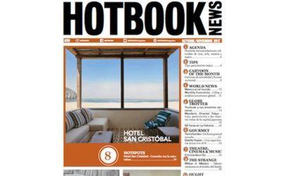Arena Martínez en Hotbook News magazine