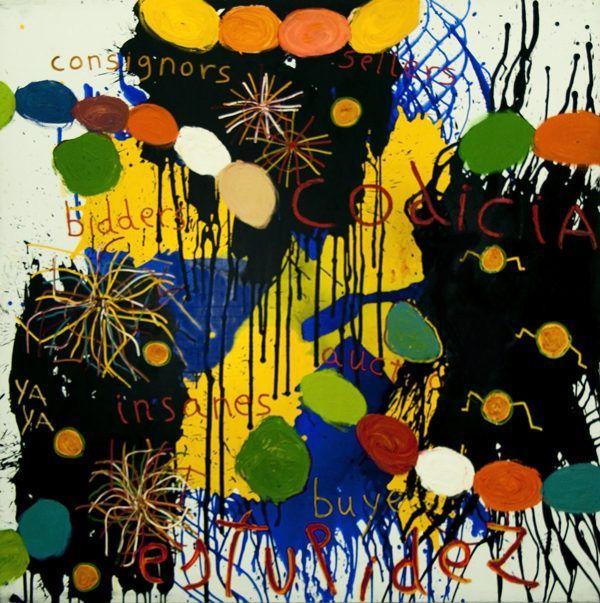 Artsy Kimonos contemporary art - Arena Martínez - Fireworks - 2
