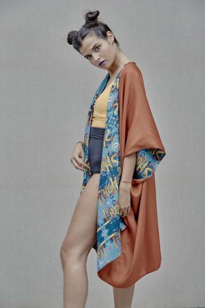 Artsy Kimono contemporary art - Arena Martínez - Shoot kimono -5
