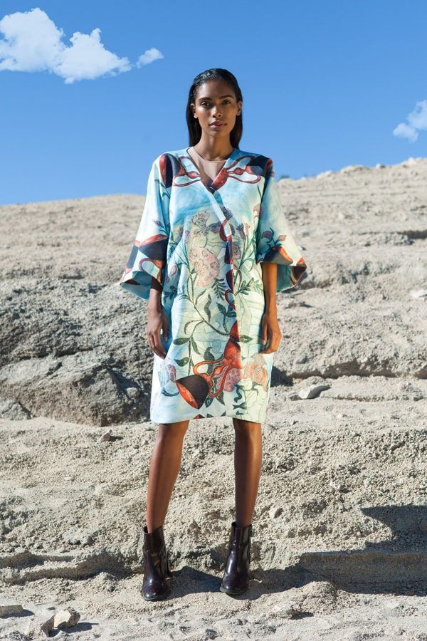 Coat decorated with contemporary art - Arena martínez - 9 of cups coat