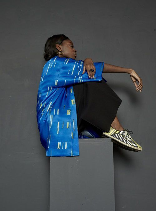 Sotomayor Girl Sitting Blue – 2