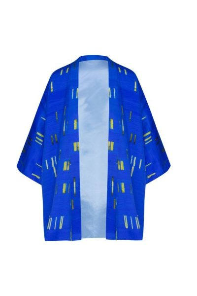 Kimonos exclusivos de marca - Arena Martínez Boutique online - Kimono Blue Baby Blue Short