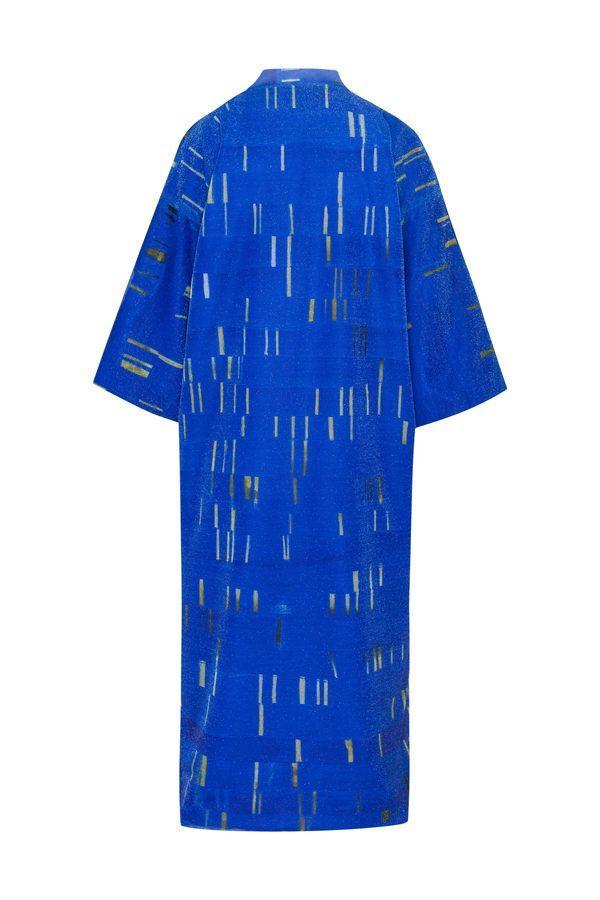 Artsy Kimono contemporary art - Arena Martínez - blue my mind - 3
