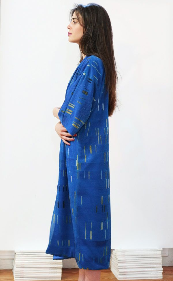 Artsy Kimono contemporary art - Arena Martínez - blue my mind - 2