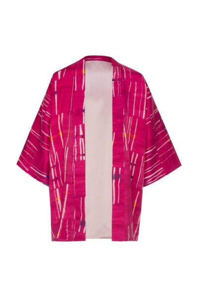 Kimonos exclusivos de marca - Arena Martínez Boutique online - Kimono Pink Crush-Short