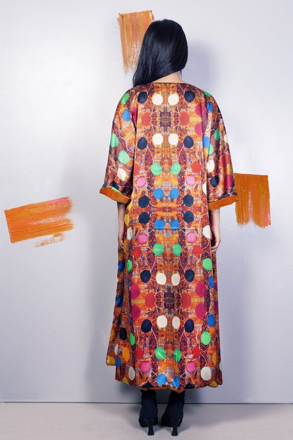 Artsy kimonos decorated with contemporary art-Arena Martinez-Serendipity Queen in the North-2