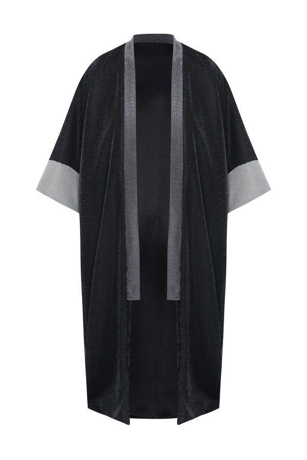 Kimonos exclusivos de marca - Arena Martínez Boutique online - Kimono Three Shiny Stones de Lurex