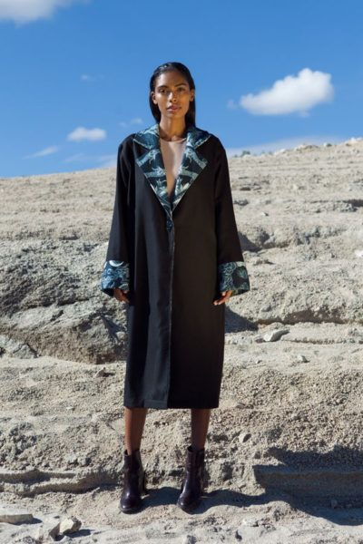 Black French Trench Coat