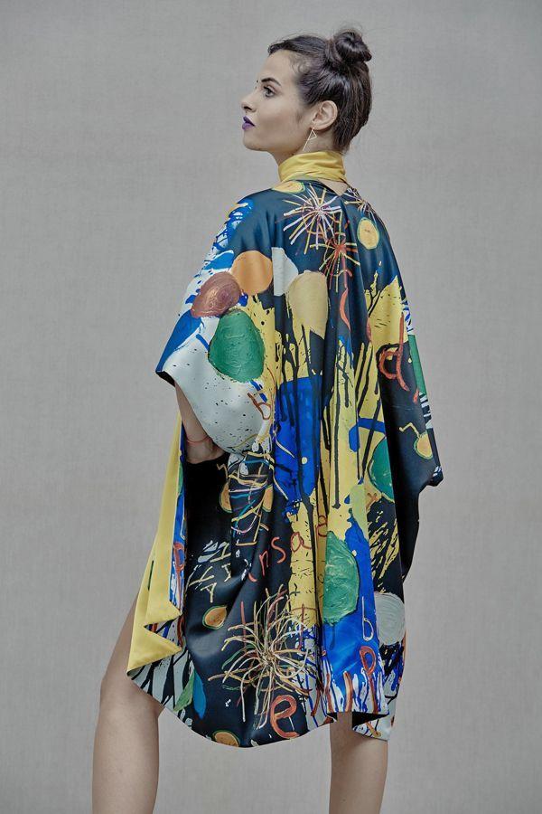 Fireworks Kimono