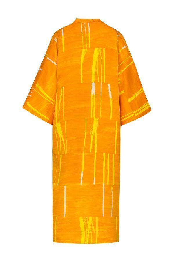 Artsy Kimono contemporary art - Arena Martínez - meet me sunset long - 1