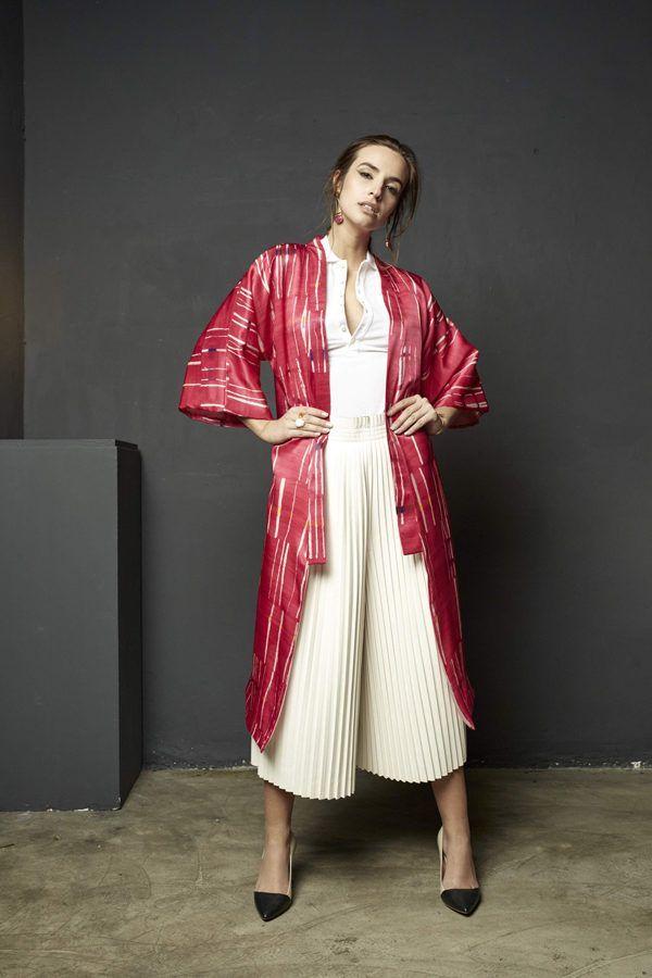 Kimonos exclusivos de marca - Arena Martínez Boutique online - Kimono Pink Crush-Long-3