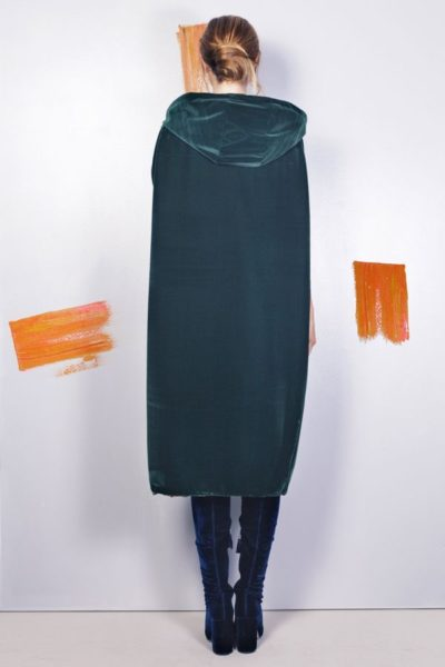 Artsy kimonos decorated with contemporary art-Arena Martinez-Serendipity Serendepity forest cape-4