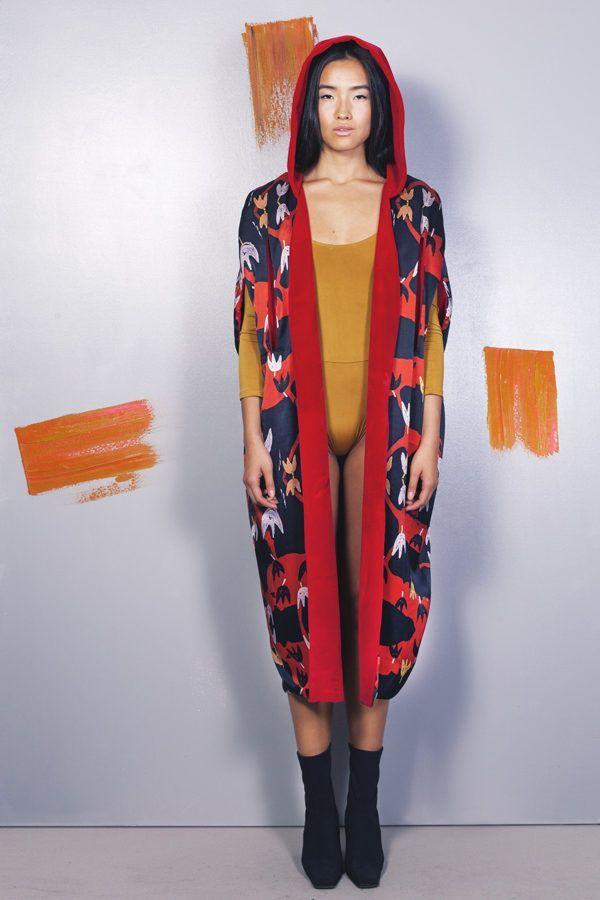 Kimono Serendipity - Poppyland Cape