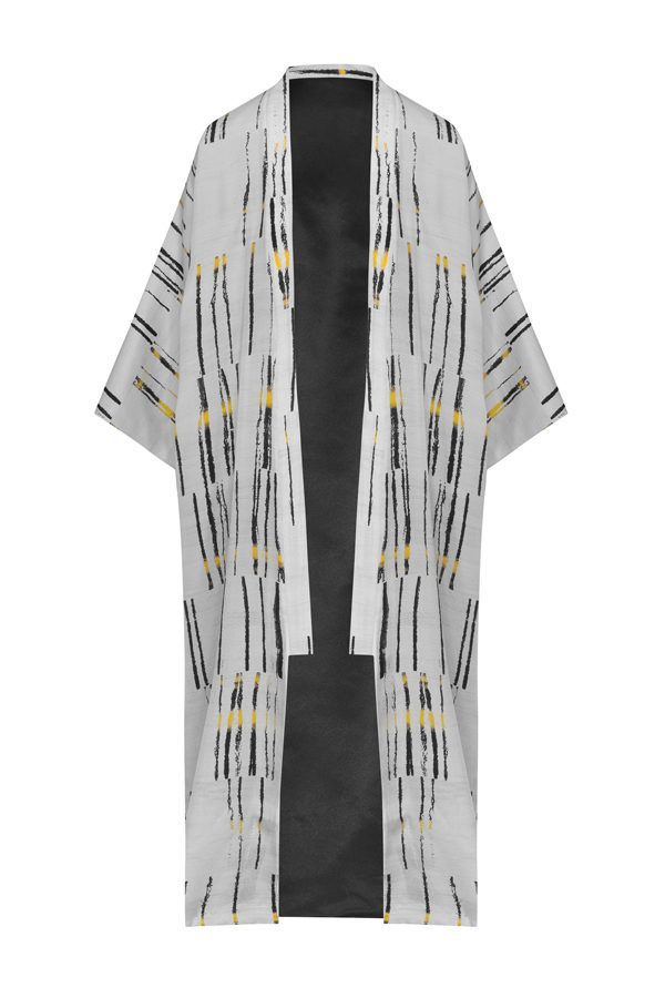 kimonos exclusivos de marca - Arena Martínez Boutique online - Kimono Limited white Addiction-Long