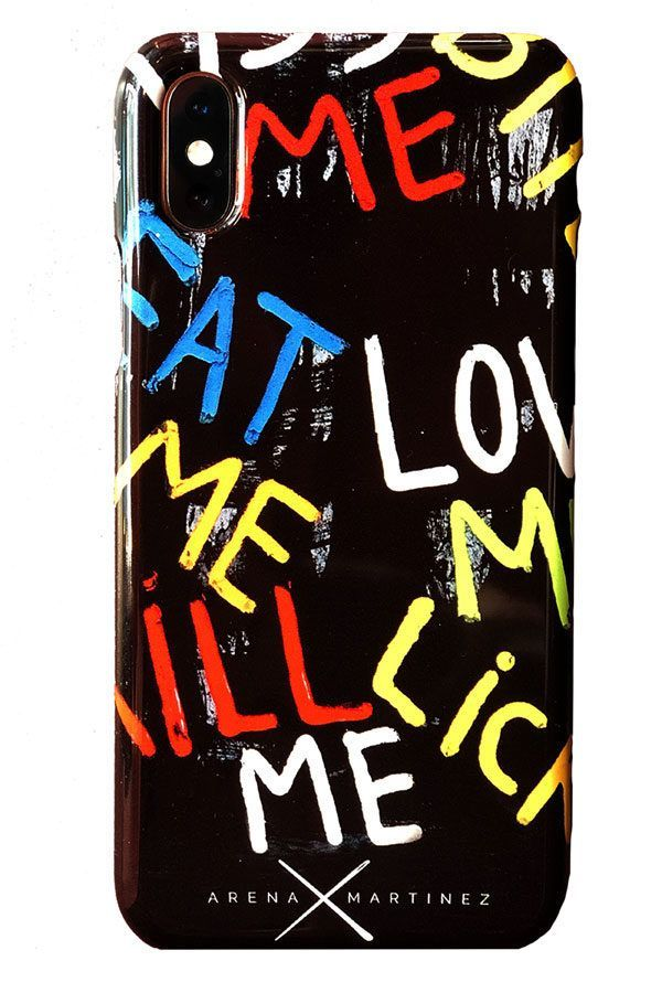 Carcasas de Iphone decoradas con arte contemporáneo - Arena Martínez - Carcasa de Iphone Kill me