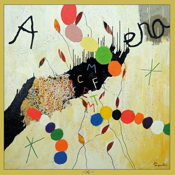Pañuelos decorados con arte contemporáneo - Arena Martínez - Camisa inspirada en la obra de Papartus - Pañuelo My favorite color