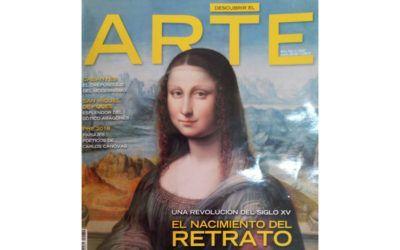 Arena Martínez in Arte magazine