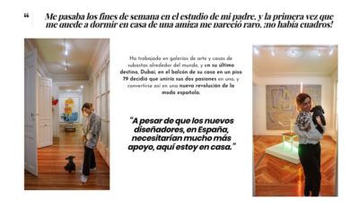 Arena Martínez en EDK magazine