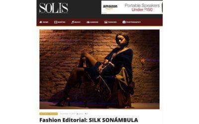 Arena Martínez en Solís magazine