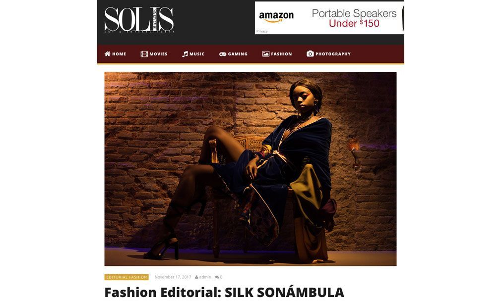 Luxury kimonos with art - Arena Martínez - Solís magazine - feat