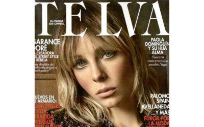 Arena Martínez in Telva Magazine