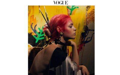 Arena Martínez en la revista Vogue