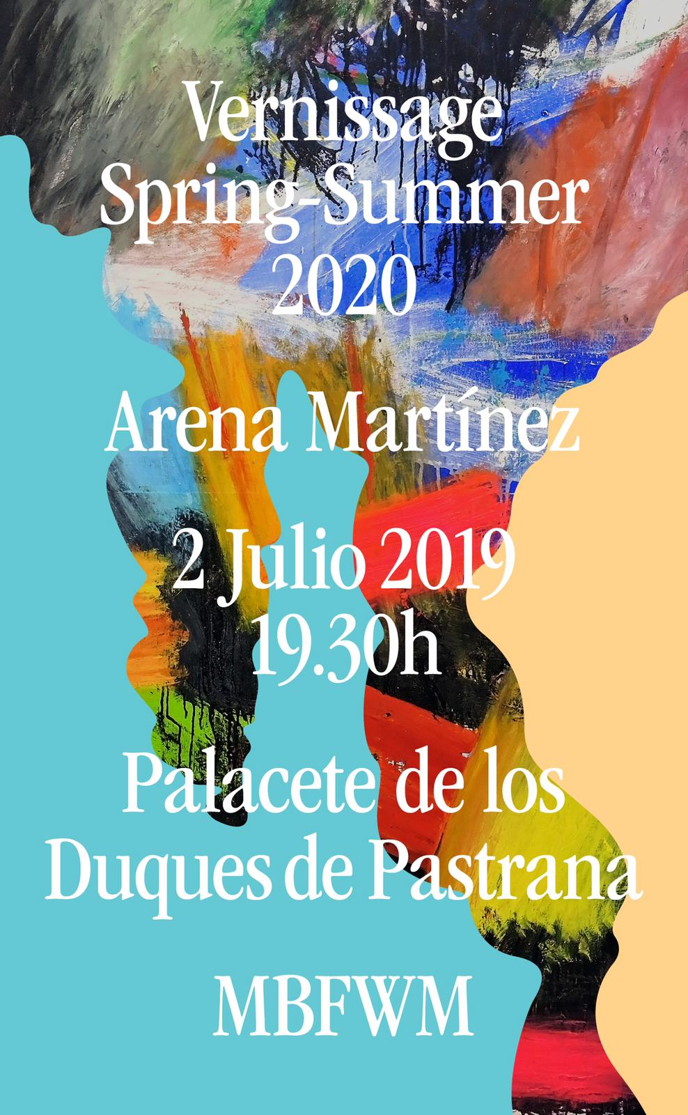 Contemporary art and fashion online store in Madrid - Spain - Arena Martínez - MBFWM - 2020