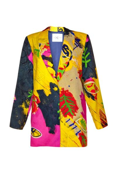 Exclusive blazers - Online store in Madrid - Arena Martínez -Rainy Yellow blazer