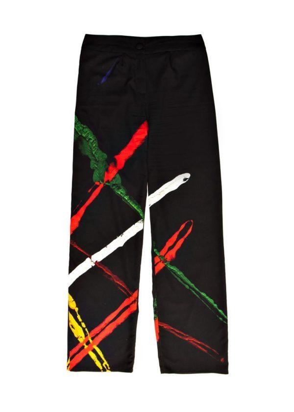 Exclusive pants - Online store in Madrid - Arena Martínez - Lines pants