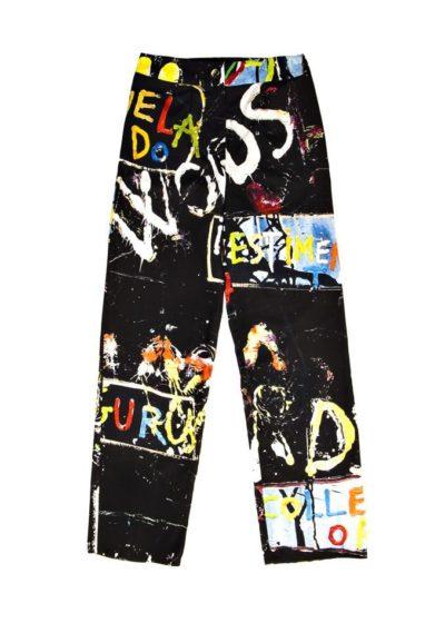 Exclusive pants - Online store in Madrid - Arena Martínez - Words pants