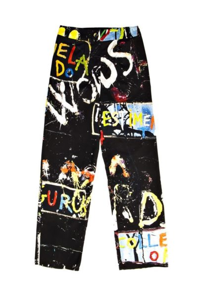 Exclusive pants - Online store in Madrid - Arena Martínez - Words pants