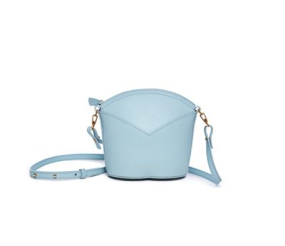 Bolsos exclusivos de piel decorados con arte contemporáneo - Arena Martínez - Baby blue Susi Bag-3