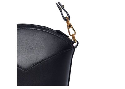Exclusive leather bags decorated with art - Arena Martínez - Black night Susi Bag