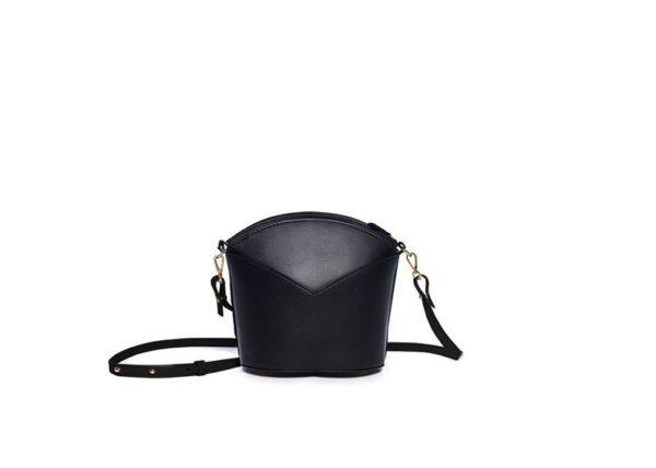 Bolsos exclusivos de piel decorados con arte contemporáneo - Arena Martínez - Black night Susi Bag-1