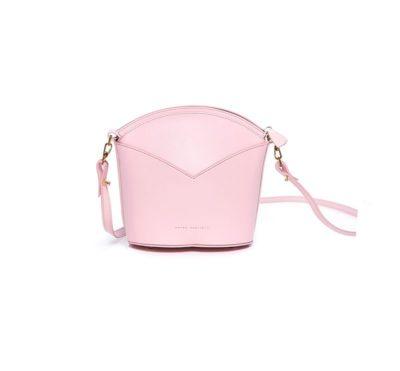 Bolsos exclusivos de piel decorados con arte contemporáneo - Arena Martínez - Baby pink Susi Bag-2