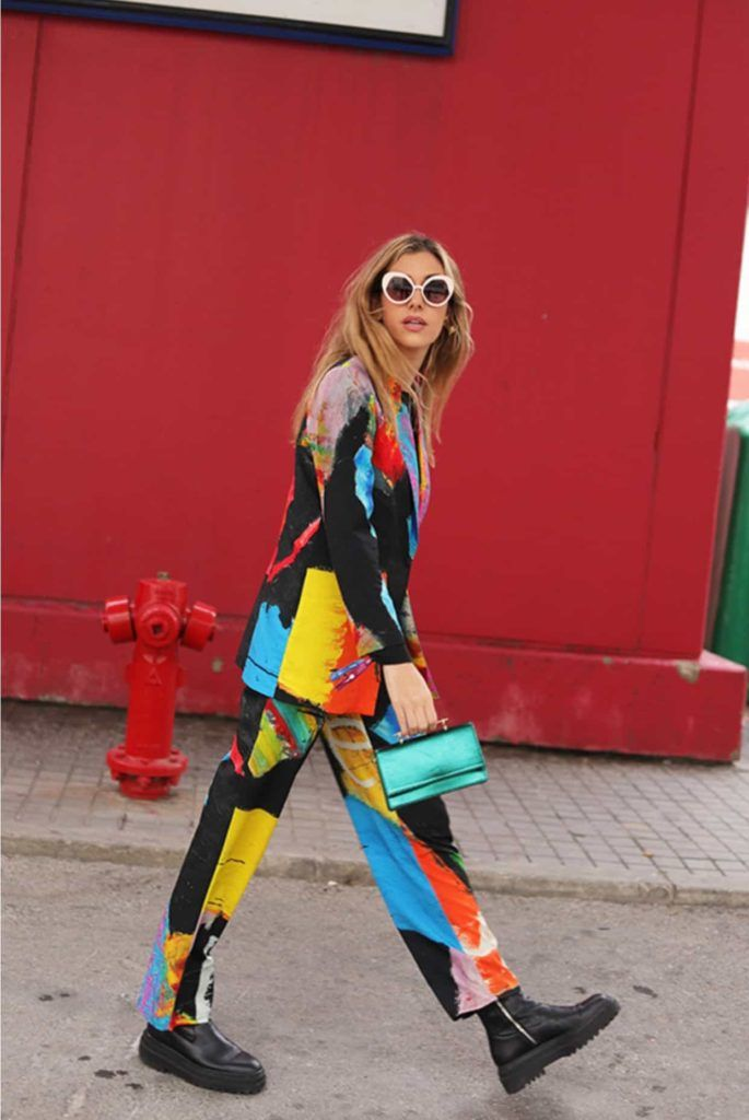 Moda exclusiva con arte - Arena Martínez - Blazer Madrid fashion week-2020-2