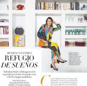 Americanas exclusivas con arte - Tienda online en Madrid - Arena Martínez - Valentina Zuluaga con nuestro conjunto Lum