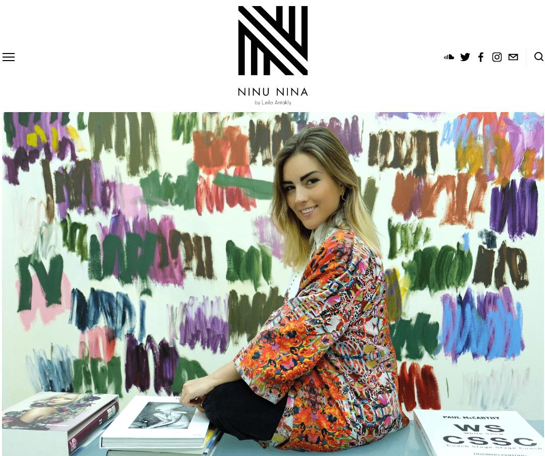 Exclusive blazers - Online store in Madrid - Arena Martínez - Valentina Zuluaga - Ninu Nina abril 2020