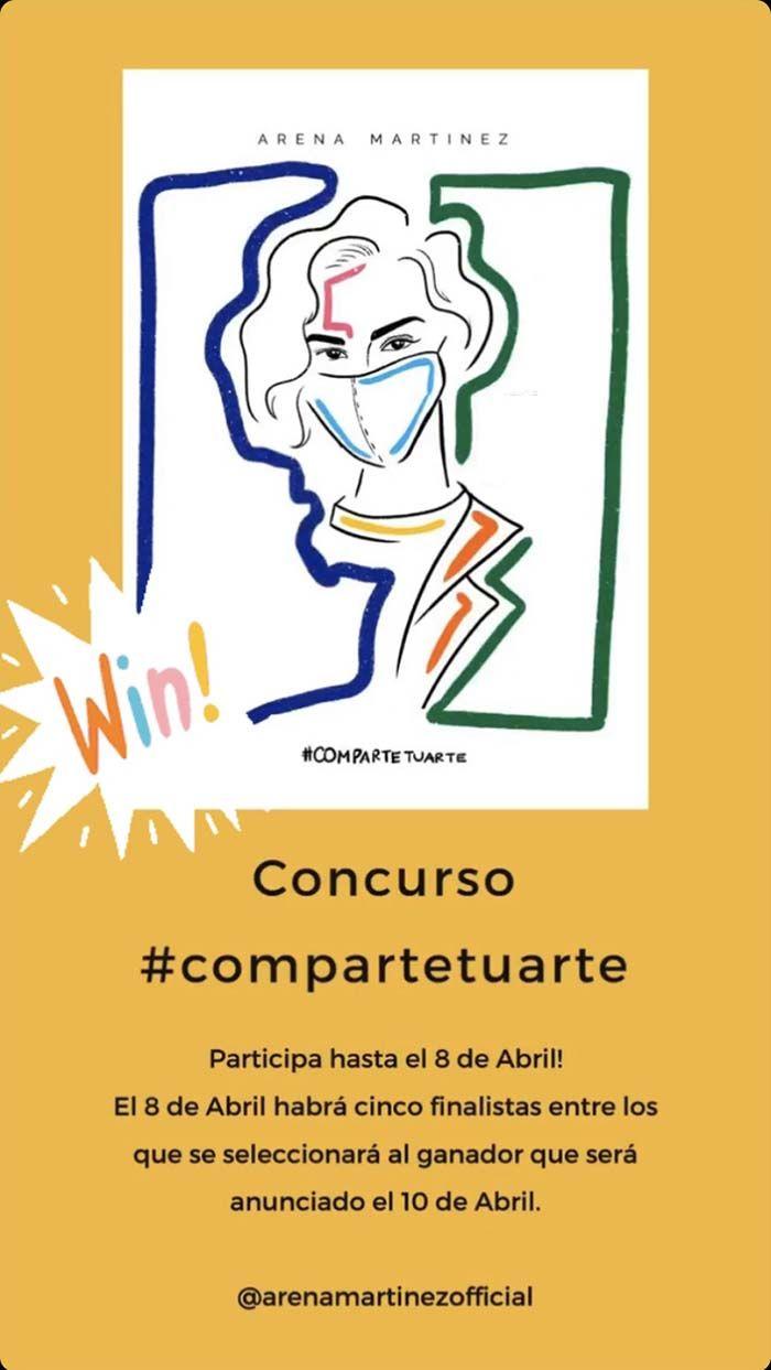 Moda exclusiva von arte contemporáneo - Arena Martínez - Premio-2