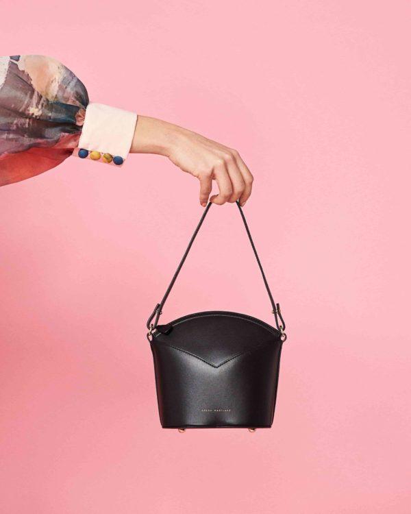 Bolso negro- Moda Española- Diseño exclusivo- Slow fashion- Arena Martínez
