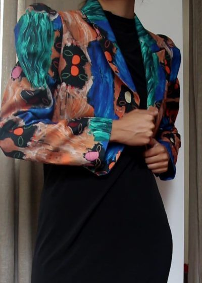 Slow fashion made in Spain by Arena Martínez - Cerdeña Jacket Capture