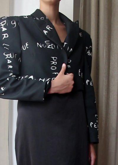 Slow fashion made in Spain by Arena Martínez - Manhattan Jacket Capture