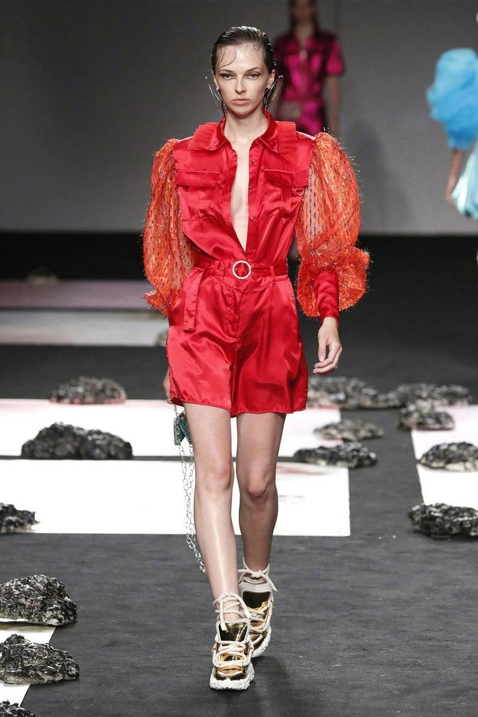 Slow fashion made in Spain by Arena Martínez - Mercedes Benz - Fashion Week - ss21 - 9