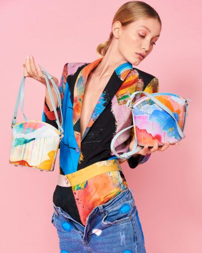 Exclusive Bags with Art - Arena Martinez - Candycrush - Susi Bag - Model - 1