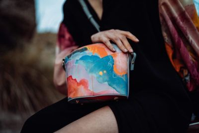 Exclusive Bags with Art - Arena Martinez - Candycrush - Susi Bag - Model - 2