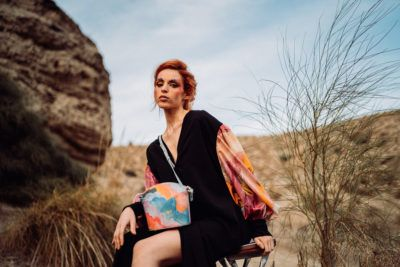 Exclusive Bags with Art - Arena Martinez - Candycrush - Susi Bag - Model - 4