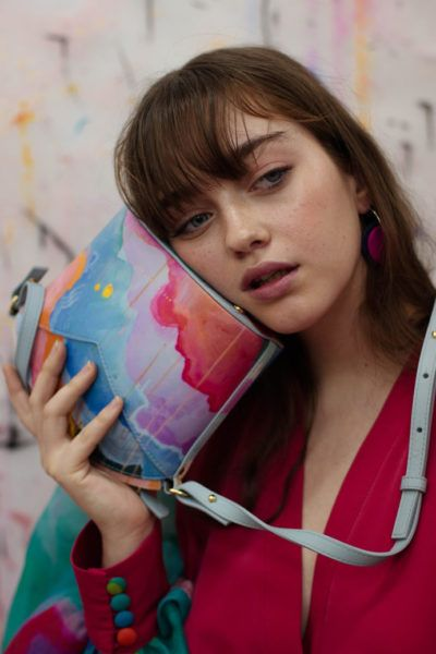 Exclusive Bags with Art - Arena Martinez - Candycrush - Susi Bag - Model - 7