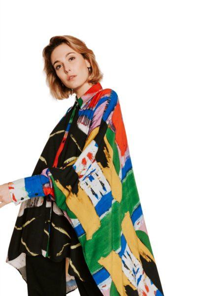 Slow Fashion made in Spain - Moda lenta por Arena Martínez - hecho a mano en España - Camisa Artsy - 3