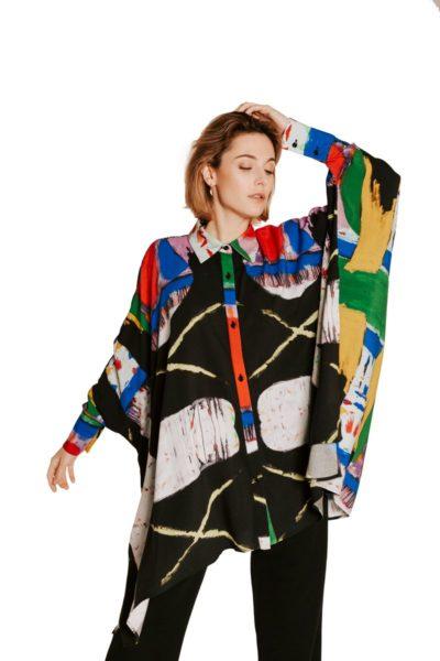 Slow Fashion made in Spain - Moda lenta por Arena Martínez - hecho a mano en España - Camisa Artsy - 7