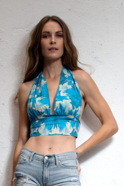 Slow fashion made in Spain - Arena Martínez - Abruzzo- Top - 5